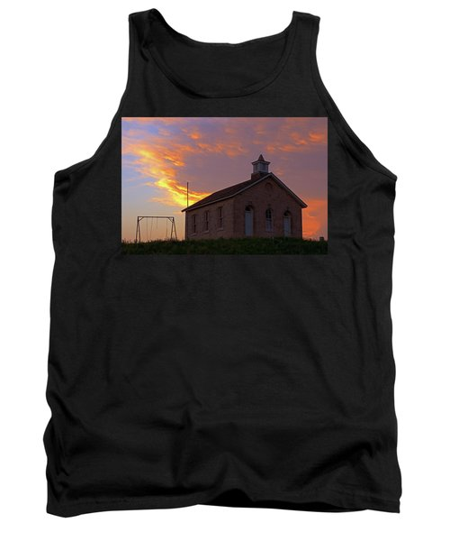 Tank Top featuring the photograph School Sunset by Christopher McKenzie