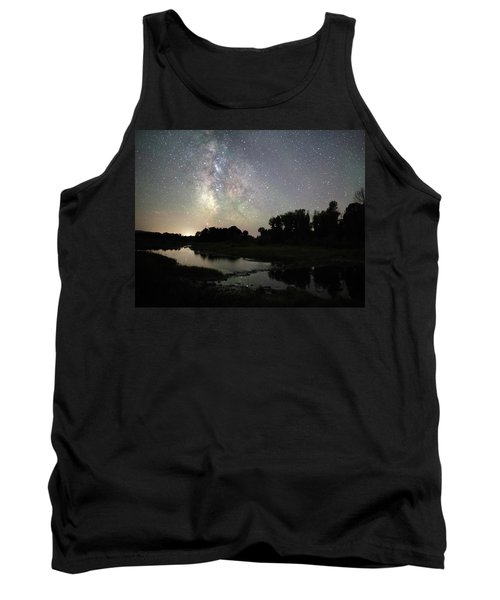 Schwabacher's Landing At Night Tank Top