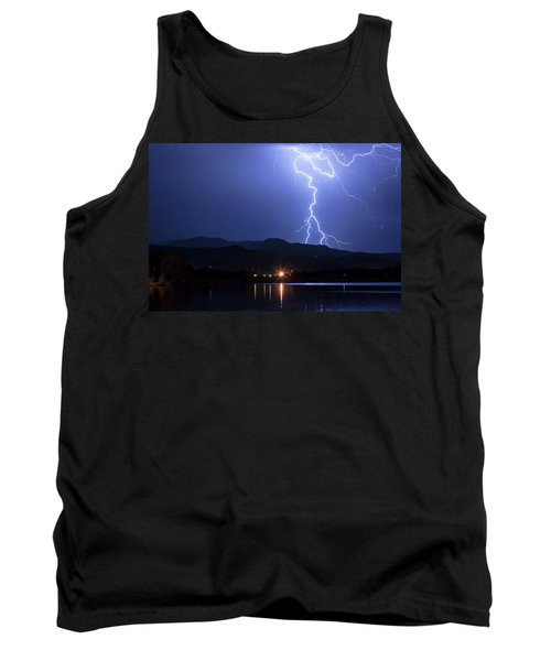 Tank Top featuring the photograph Scribble In The Night by James BO Insogna