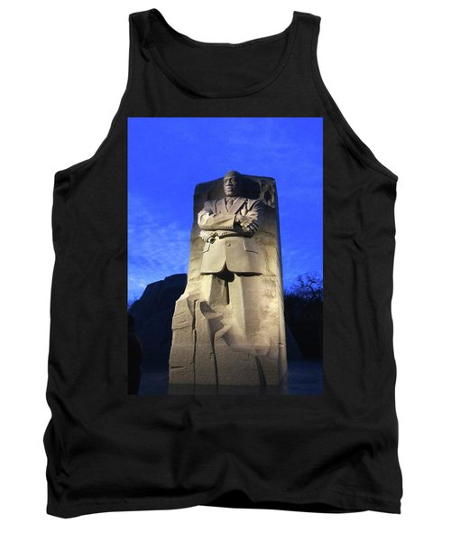 Sculptured Profile Martin Luther King Jr. Tank Top