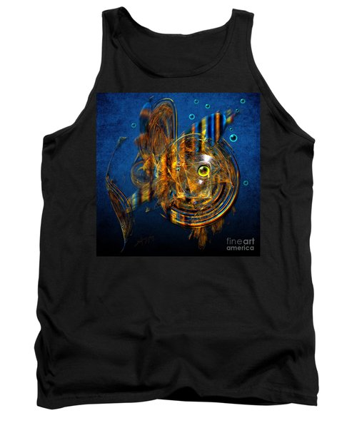 Tank Top featuring the painting Sea Fish by Alexa Szlavics