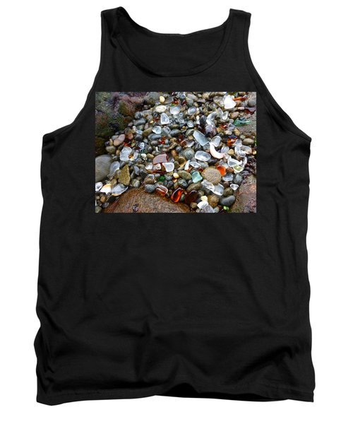 Sea Glass Gems Tank Top