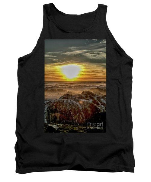 Sea Mist Sunset Tank Top