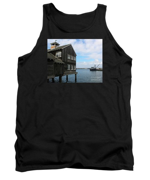 Tank Top featuring the photograph Seaport Village San Diego by Cheryl Del Toro