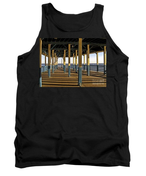Seascape Walk On The Pier Tank Top