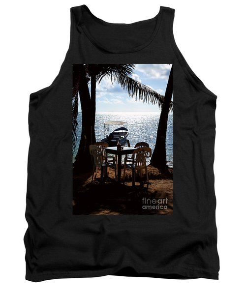 Seaside Dining Tank Top by Lawrence Burry