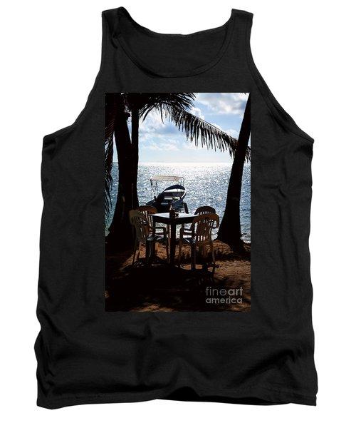 Seaside Dining Tank Top