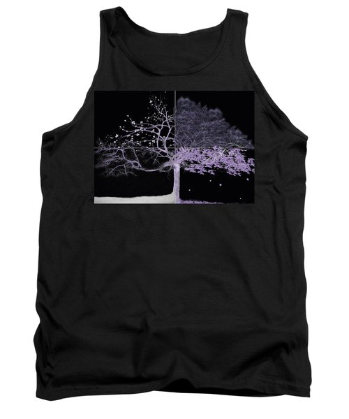 Seasons Of Change Tank Top by Gray  Artus