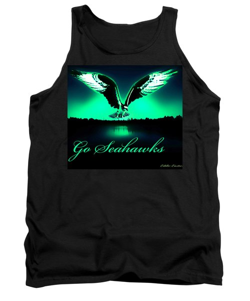 Seattle Seahawks Tank Top by Eddie Eastwood