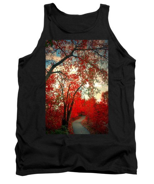 Tank Top featuring the photograph Seeing Red 2 by Tara Turner
