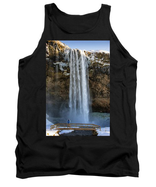Seljalandsfoss Waterfall Iceland Europe Tank Top by Matthias Hauser