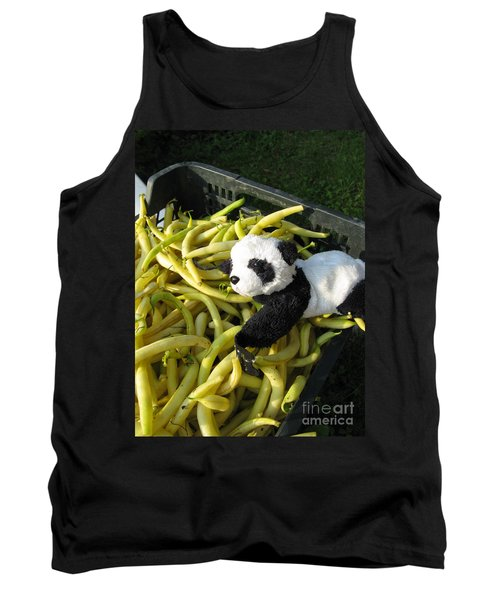 Tank Top featuring the photograph Selling Beans by Ausra Huntington nee Paulauskaite