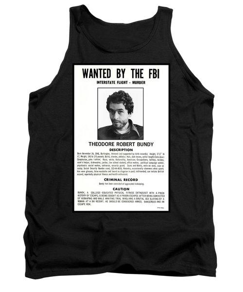 Serial Killer Ted Bundy Tank Top