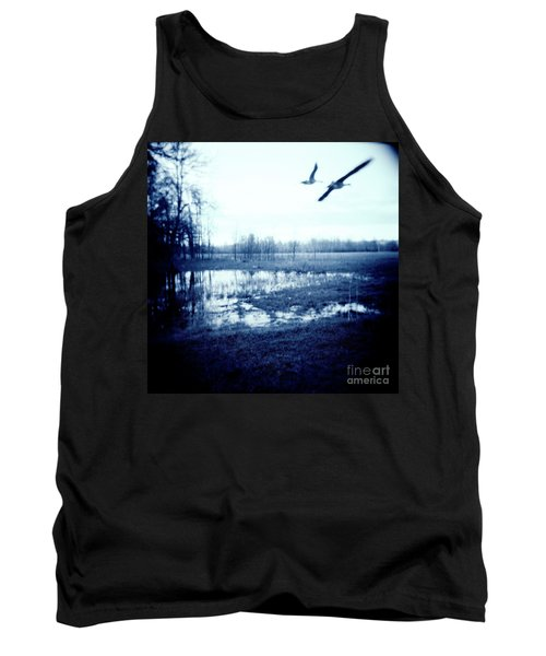 Series Wood And Water 3 Tank Top