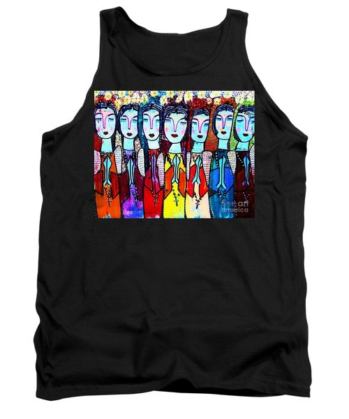 Seven Blue Spanish Angels Tank Top
