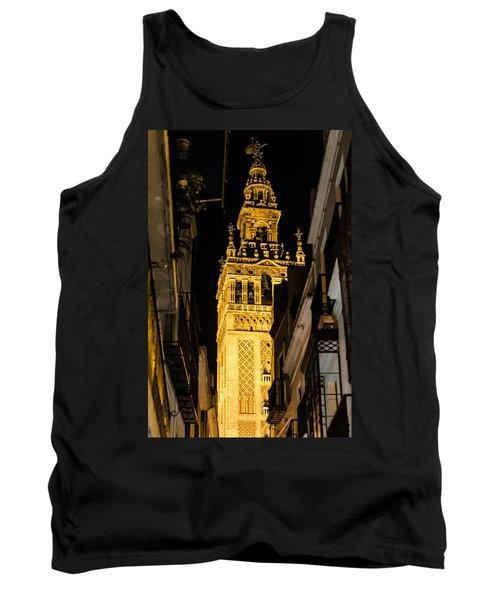 Seville - The Giralda At Night  Tank Top