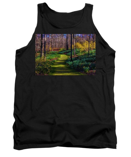 Shaded Spring Stroll Tank Top
