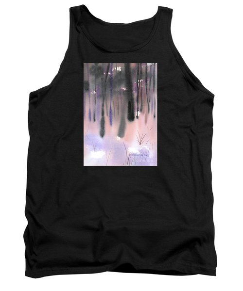 Shades Of Forest Tank Top by Yolanda Koh