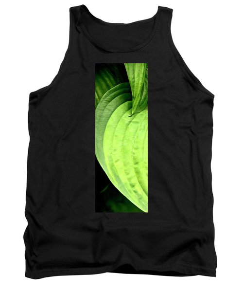 Shades Of Green Tank Top by Jerry Sodorff