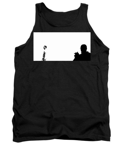 Shadow Man Tank Top