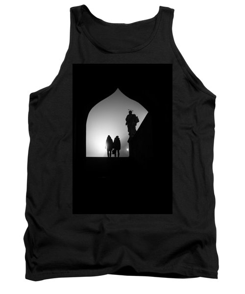 Tank Top featuring the photograph Shadows by Jenny Rainbow