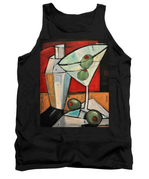 Shaken Not Stirred Tank Top