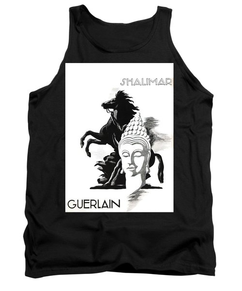 Tank Top featuring the digital art Shalimar by ReInVintaged