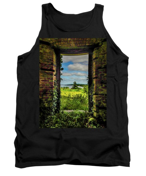 Tank Top featuring the photograph Shannon Estuary From Abandoned Paradise House by James Truett