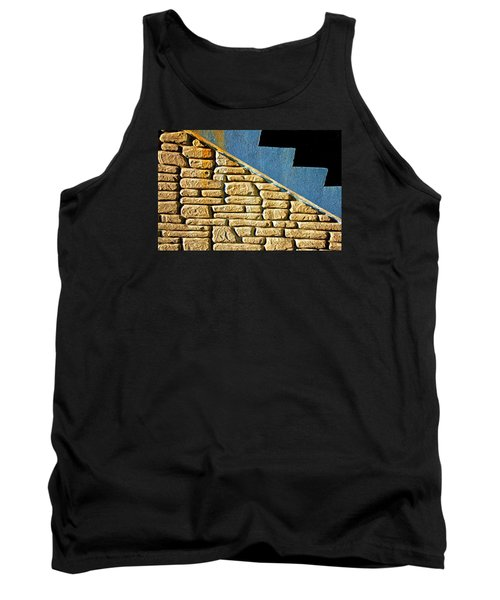Shapes And Forms Of Station Stairway Tank Top by Gary Slawsky