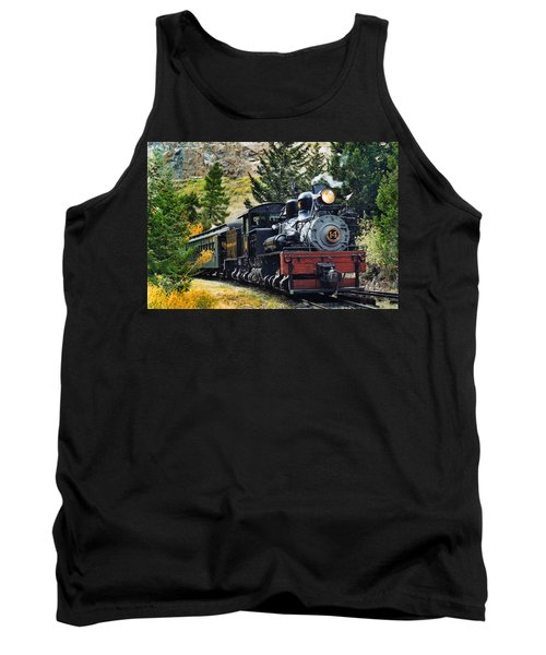 Shay On The Georgetown Loop Tank Top by Ken Smith
