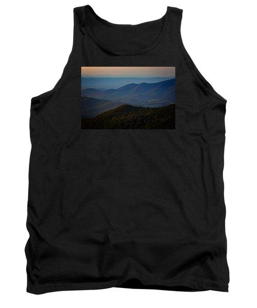 Shenandoah Valley At Sunset Tank Top by Rick Berk
