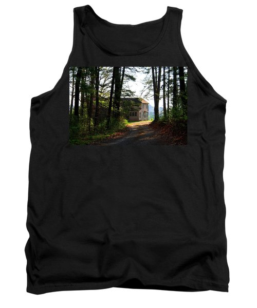 Tank Top featuring the photograph Shields Farm by Kathryn Meyer