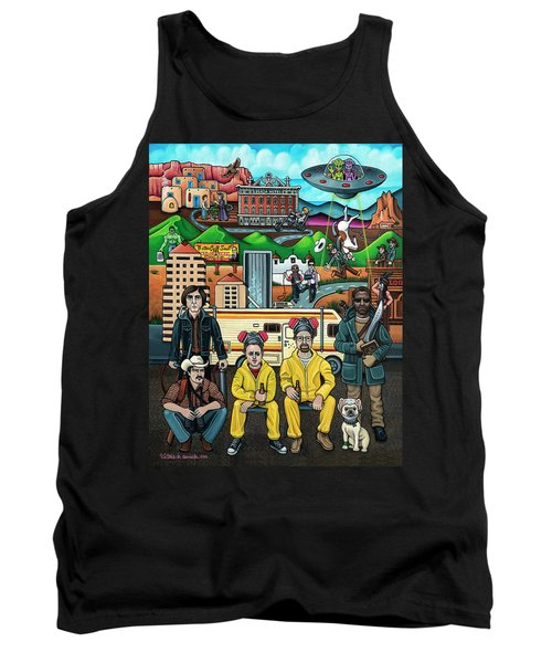 Shooting Stars In New Mexico Tank Top