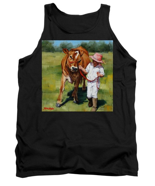 Showgirls Tank Top by Margaret Stockdale