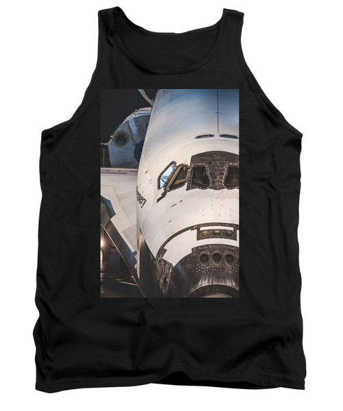 Shuttle Close Up Tank Top by David Collins