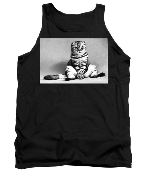 Shy Cat Tank Top
