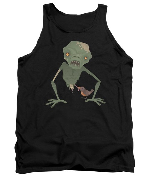 Sickly Zombie Tank Top by John Schwegel