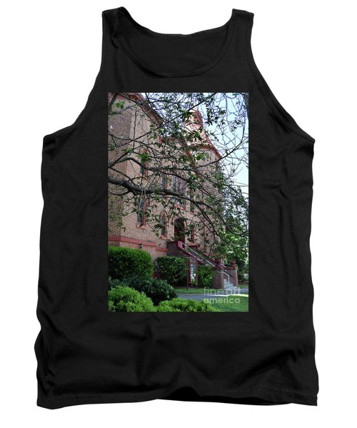 Tank Top featuring the photograph Sidney Park Cme Church by Skip Willits