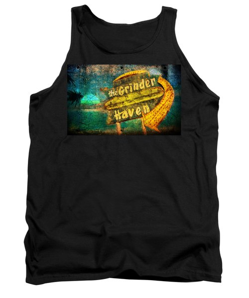 Sign Of The Times Tank Top by Greg Sharpe