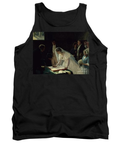 Signing The Register Tank Top