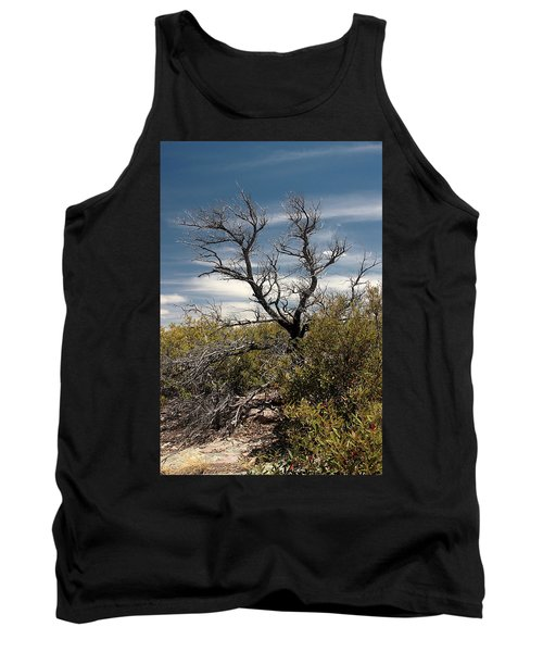 Tank Top featuring the photograph Signs Of Life After The Fire by Joe Kozlowski