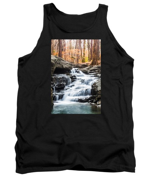 Autumn At Moss Rock Preserve Tank Top by Parker Cunningham