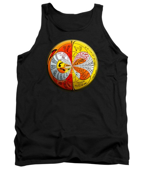 Tank Top featuring the photograph Signs Orbit by Phyllis Denton