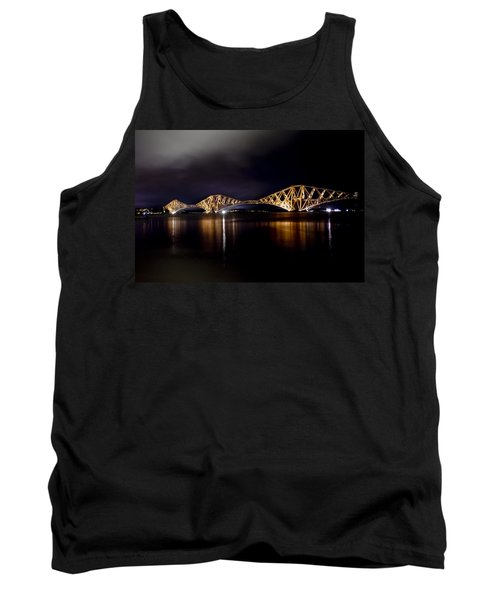 Silent Lights Of The Magic Night. Tank Top