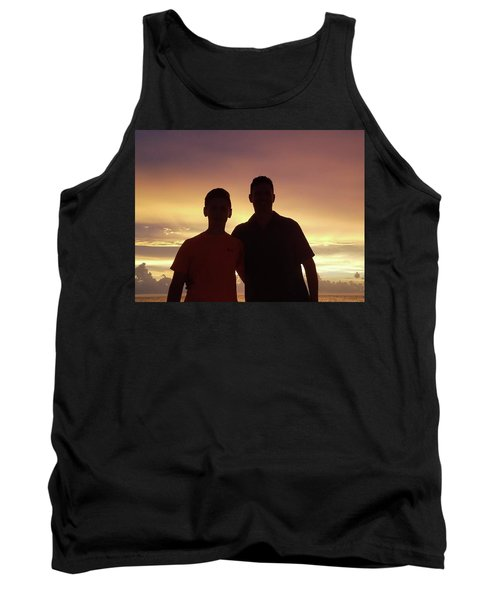 Silouettes Tank Top by Val Oconnor