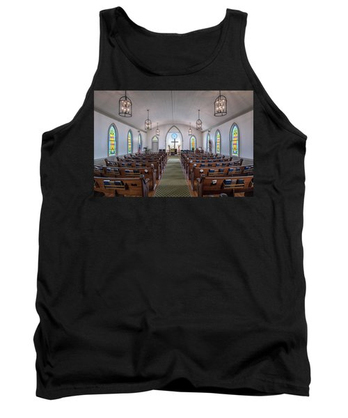 Simple Worship Tank Top by Andy Crawford