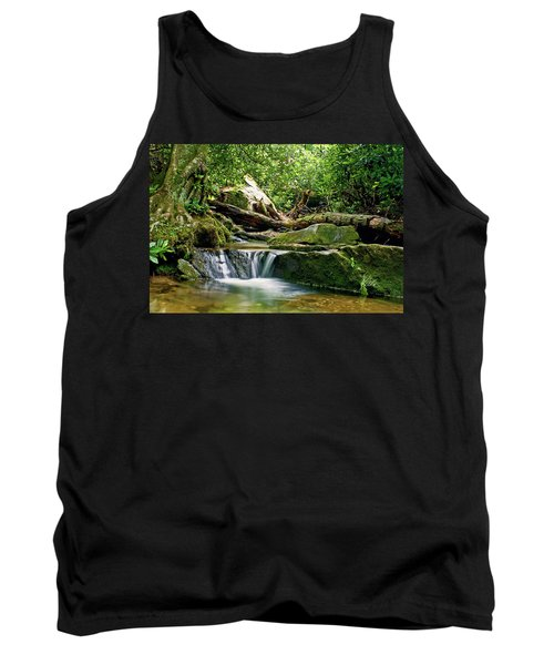 Sims Creek Waterfall Tank Top by Meta Gatschenberger