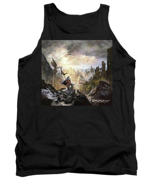 Simurgh Call Of The Dragonlord Tank Top