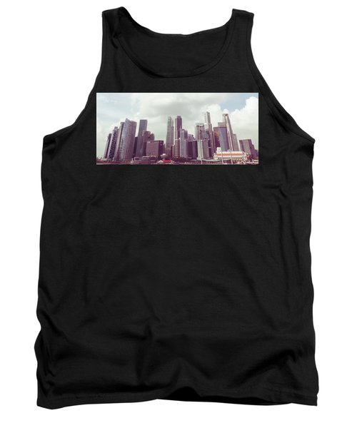 Singapore Cityscape The Second Tank Top by Joseph Westrupp