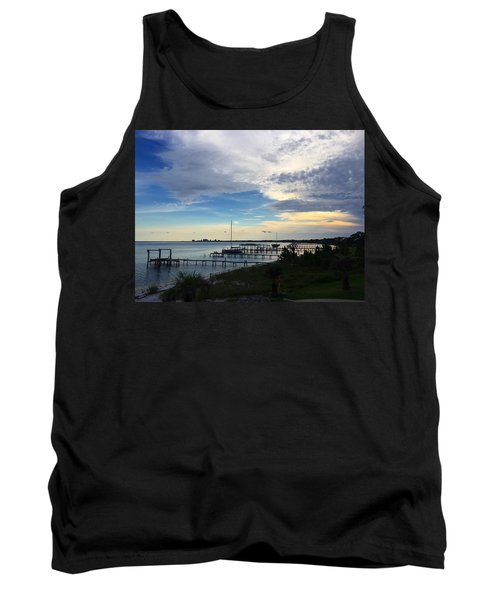Sittin' On The Dock Of The Bay Tank Top